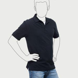 R599M Robustes-Poloshirt Herren